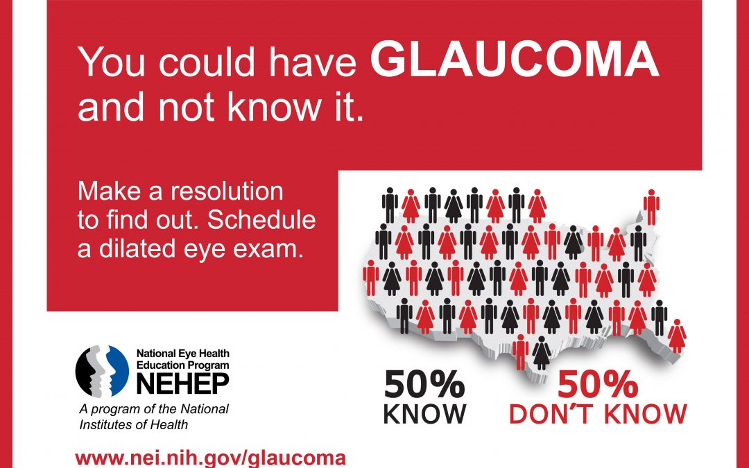 It's Glaucoma Awareness Month
